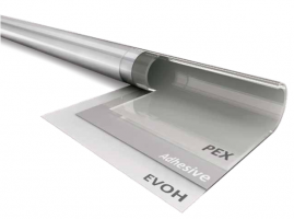 Труба из сшитого полиэтилена HOOBS 20х2,8 Professional line PEX-a/EVOH (1м)