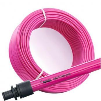 Труба из сшитого полиэтилена REHAU RAUTITAN pink 16х2,2 мм, бухта 120 м (11360421120)