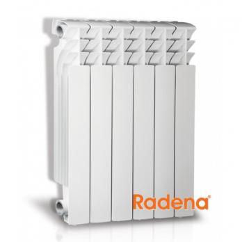 Радиатор алюминиевый Radena 500/100 х8