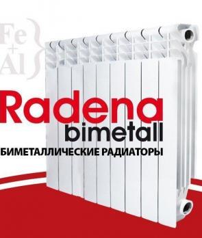Радиатор биметаллический Radena CS 500 х8