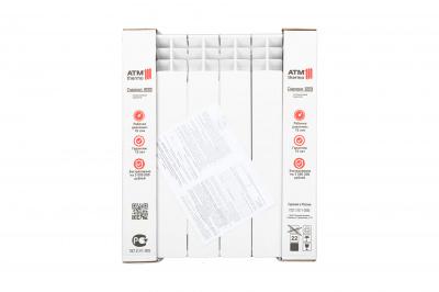 Радиатор алюминиевый ATM Energia 500/100 /12 СЕКЦИЙ
