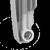 Радиатор алюминиевый Royal Thermo BiLiner Alum Bianco Traffico 500 x10