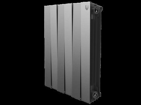 Радиатор биметаллический Royal Thermo PianoForte Silver Satin 500 x10