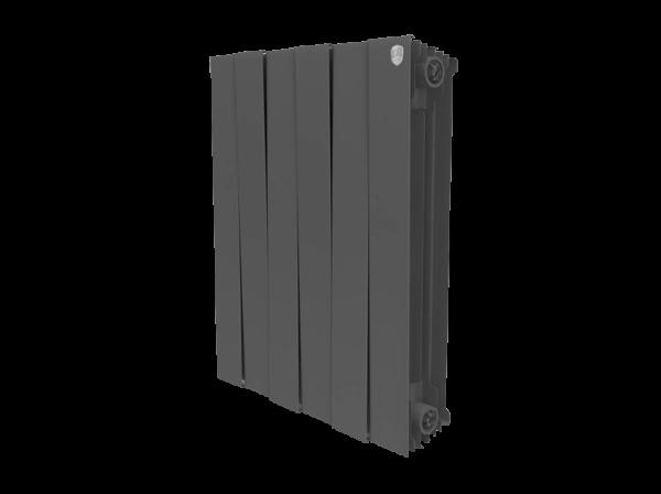 Радиатор биметаллический Royal Thermo PianoForte Noir Sable 500 x8