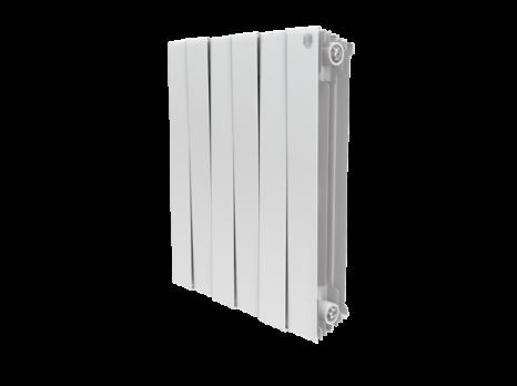 Радиатор биметаллический Royal Thermo PianoForte Bianco Traffico 500 x8